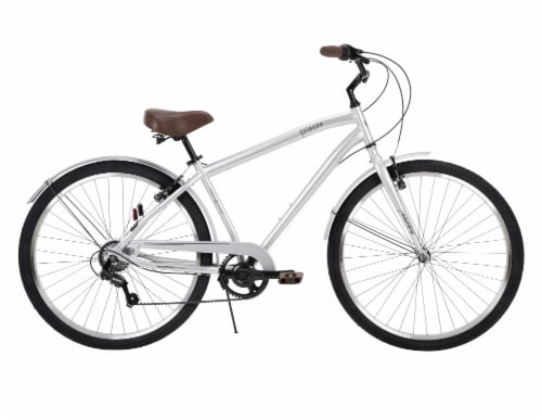 Huffy Sienna Men's Bicycle - Silver Perspective: front