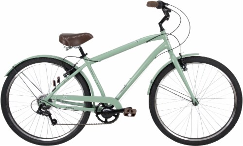 Huffy Sienna Men's Bicycle - Vintage Green Perspective: front
