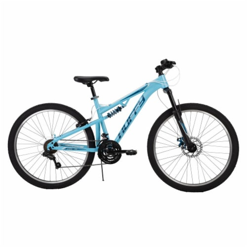 Huffy Ladies Mountain Bike - Blue Perspective: front