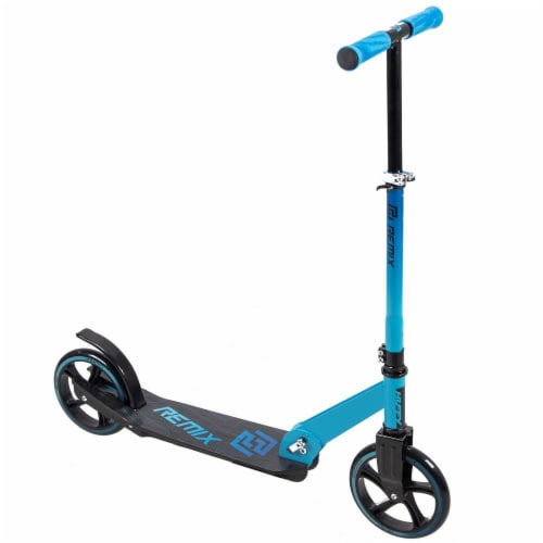 Huffy Remix In-Line Scooter - Cobalt/Blue Perspective: front