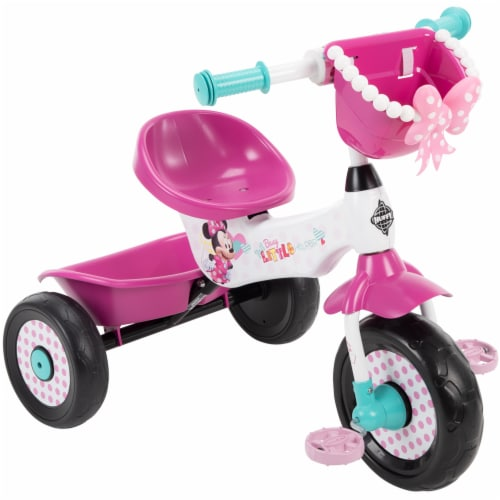 Huffy Minnie Mouse Tricycle - White/Pink Perspective: front