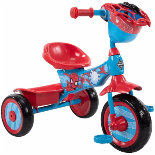 Huffy Spider-Man Tricycle - Red/Blue Perspective: front
