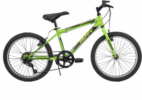 Huffy Granite Boys' Mountain Bicycle - Green/Black Perspective: front