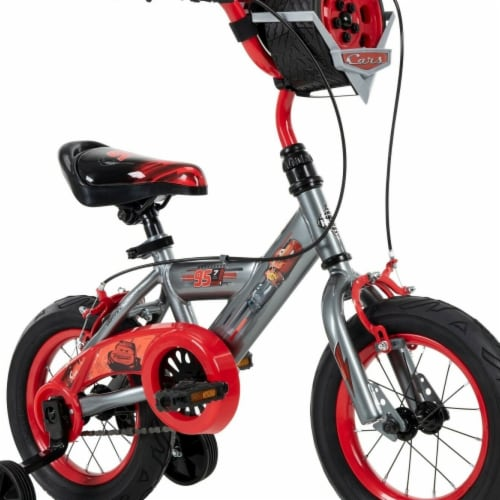 Huffy 71129 Disney Cars Bike 16 in. Quick Connect Assembly, Tire Case Perspective: front