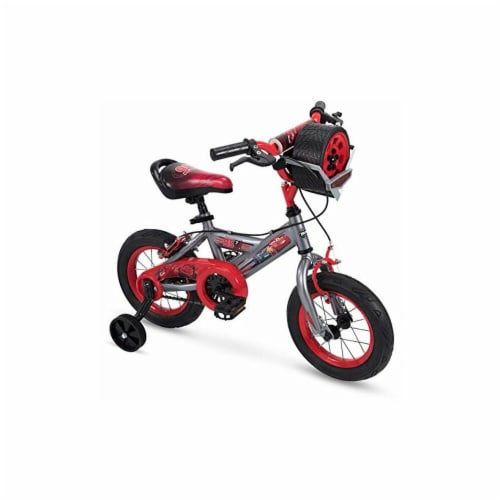 Huffy 72129 Disney Cars Bike 12 in. Quick Connect Assembly, Tire Case Perspective: front