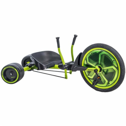 Huffy Green Machine Bike - Satin Lime/Black Perspective: front