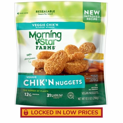 MorningStar Farms Frozen Veggie Chik'n Nuggets Original Perspective: front