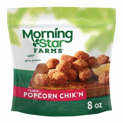 MorningStar Farms Frozen Veggie Popcorn Chik'n Original Perspective: front