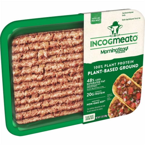 Morningstar Farms Incogmeato Plant-Based Ground Protein Perspective: front