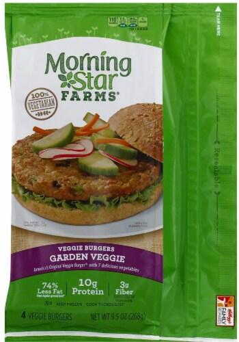 City Market Morningstar Farms Garden Veggie Patties 4 Ct 2 38 Oz