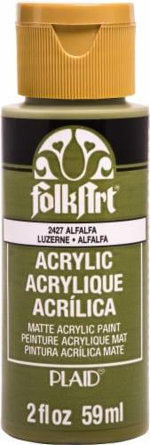 FolkArt Acrylic Paint 2oz-Alfalfa Perspective: front