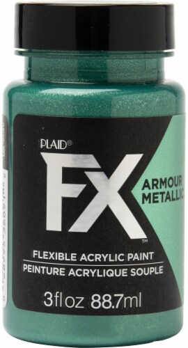 FX Armour Metallic Paint 3oz-Emerald Perspective: front