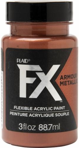 FX Armour Metallic Paint 3oz-Copper Plate Perspective: front