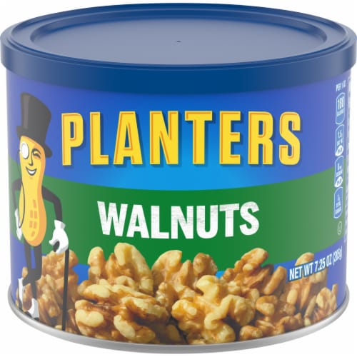 Planters Walnuts Perspective: front
