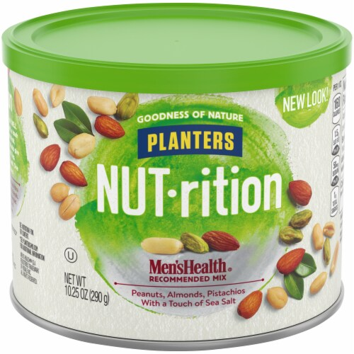 Planters Nut-rition Men's Health Recommended Nut Mix Perspective: front