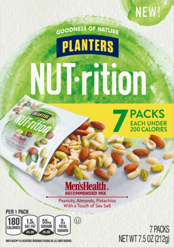 Planters Men's Health Nut-rition Perspective: front