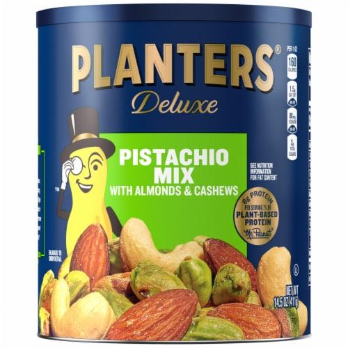 Planters Deluxe Pistachio Mix Perspective: front