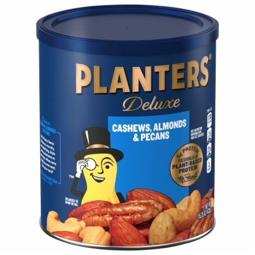 Planters Select Cashews Almonds & Pecans Perspective: front