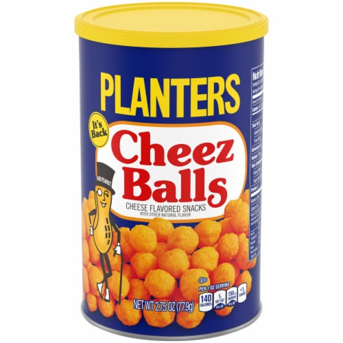 Planters Cheez Balls Cheese Flavored Snack Perspective: front