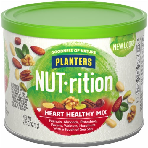 Planters NUT-rition Heart Healthy Mix Perspective: front