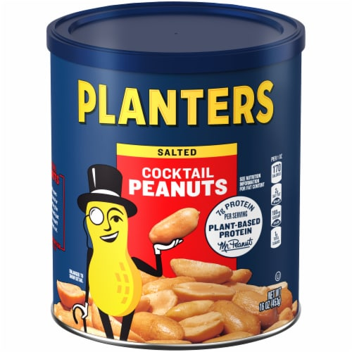 Planters Cocktail Peanuts Perspective: front