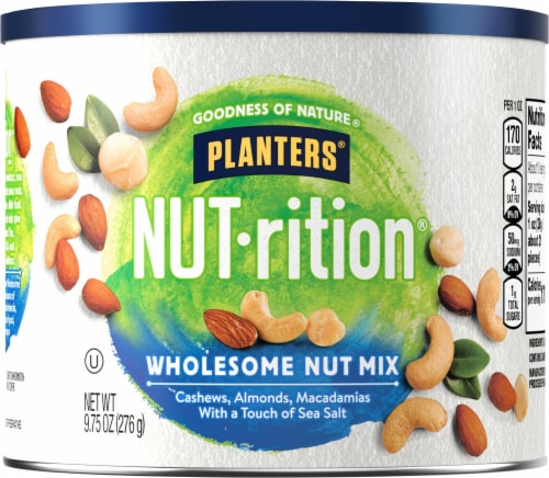 Planters NUT-rition Wholesome Nut Mix Perspective: front