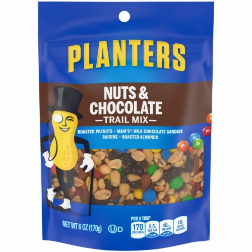Planters Nut & Chocolate Trail Mix Perspective: front