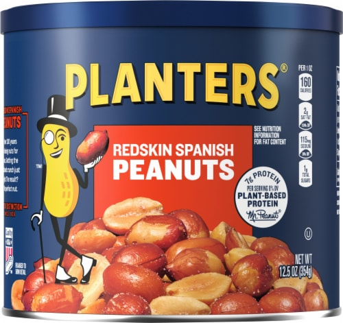 Planters Redskin Spanish Peanuts Perspective: front
