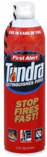 First Alert Tundra Fire Suppressant Perspective: front