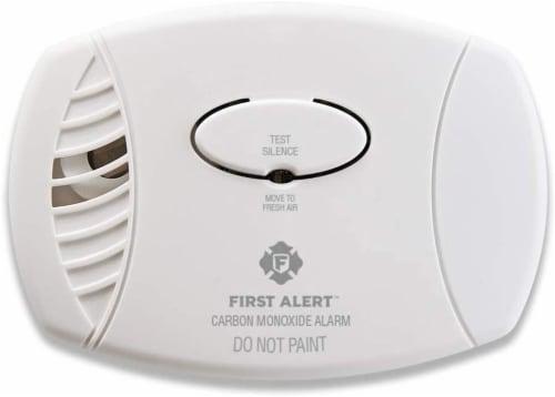 First Alert Carbon Monoxide Alarm - White Perspective: front