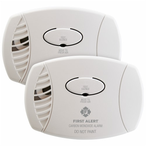 First Alert Carbon Monoxide Alarms Perspective: front