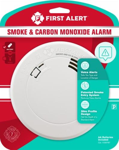 First Alert Smoke & Carbon Monoxide Alarm Perspective: front