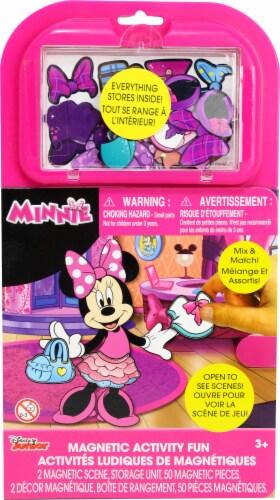 Disney Junior Minnie Magnetic Activity Fun Perspective: front