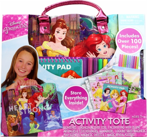 Disney Princess Activity Tote Perspective: front