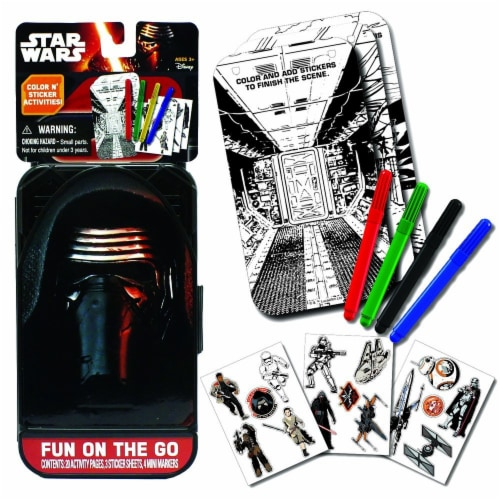 Star Wars The Force Awakens Fun On The Go Play Set Perspective: front