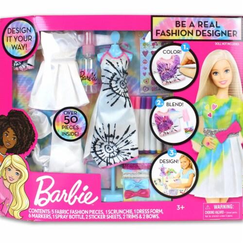 Mattel Barbie™ Be A Real Fashion Designer Tie Dye Kit Perspective: front