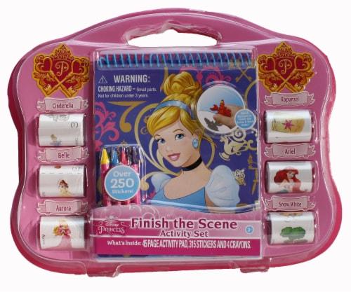 Disney Princess 'Finish The Scene' Activity Set Perspective: front