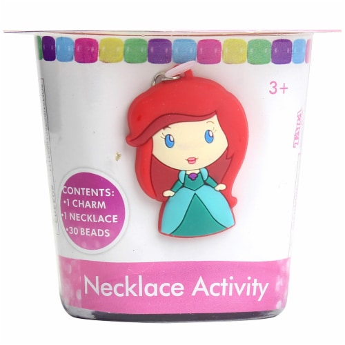 Disney Princess Ariel Necklace Activity Kit Perspective: front