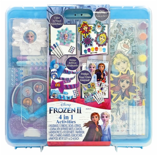 Disney Frozen 4 in 1 Activities Perspective: front