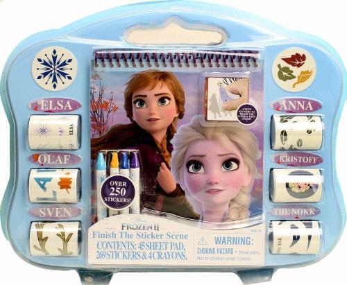 Disney Frozen 2 Finish The Sticker Scene Perspective: front
