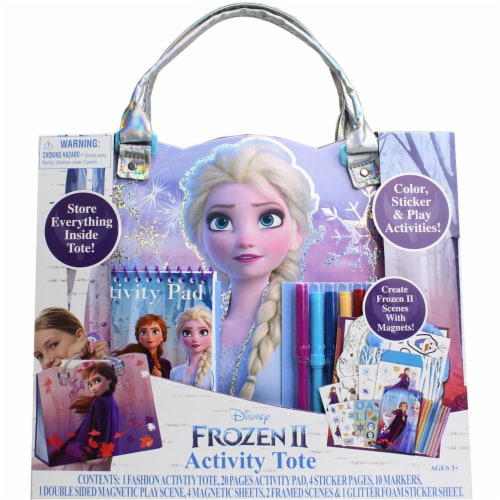 Disney Frozen 2 Activity Tote Perspective: front