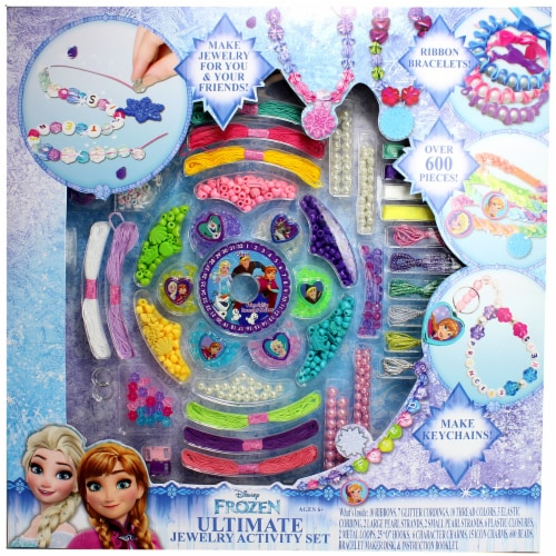 Disney Frozen Ultimate Jewelry Activity Set Perspective: front