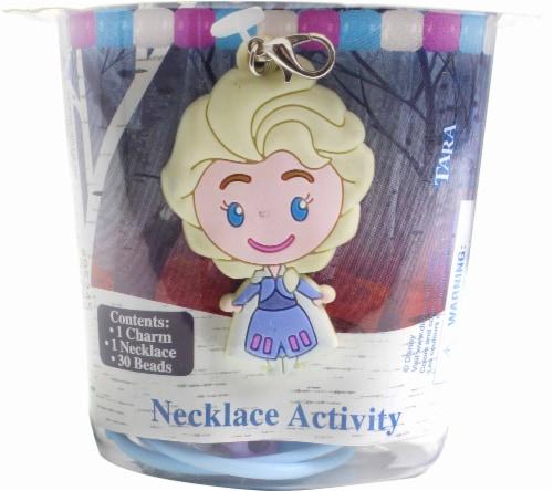 Disney Frozen 2 Elsa Necklace Activity Kit Perspective: front