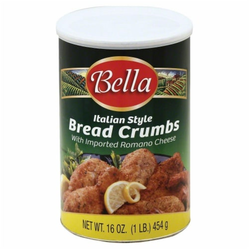 Bella Italian Style Bread Crumbs Perspective: front