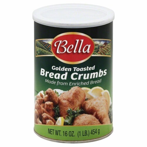 Bella Golden Toasted Bread Crumbs Perspective: front