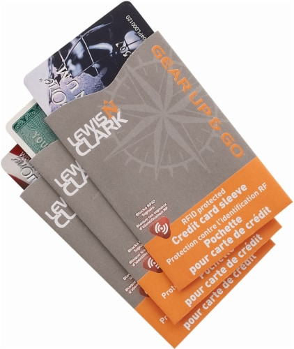 Lewis N. Clark Credit Card RFID Shields - 3 Pack Perspective: front