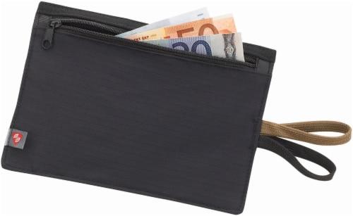 Lewis N. Clark RFID Travel Wallet - Black Perspective: front