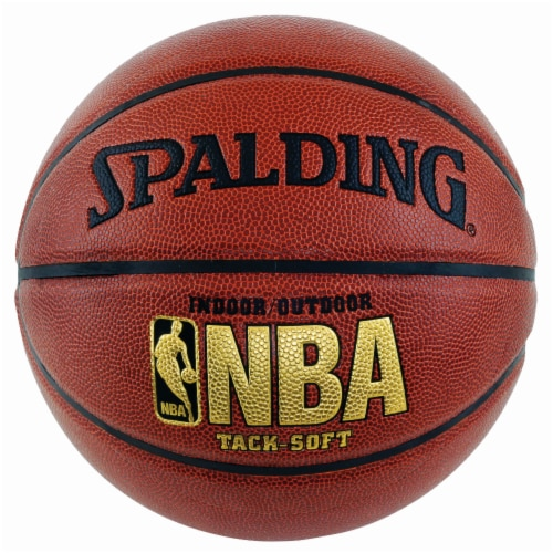 Spalding NBA Tack-Soft Indoor/Outdoor Basketball Perspective: front