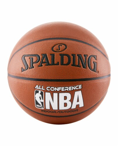 Spalding NBA All Conference Basketball Perspective: front
