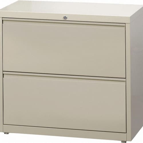 Hirsh Lateral File Cabinet,28 in. H,Steel  14970 Perspective: front
